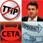 SPD-Chef Gabriel zu TTIP: Undurchsichtige Politik - ALARM!