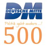 Deutsche Mitte begrüßt das 500. Mitglied! - und weitere gute Nachrichten!