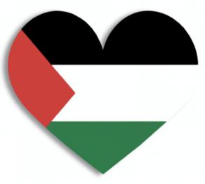 Freiheit Palästina Herz