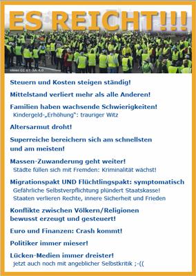 """""""Bewegung Gelbe Westen"""""""
